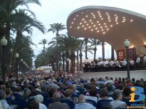 La Banda de Benissa a l'Explanada d'Alacant