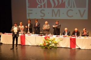 Rafa Molines a l'assemblea de la FSMCV