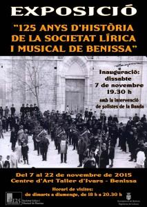 Cartell de l'exposició del 125 aniversari