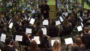 Banda de Benissa durant un concert